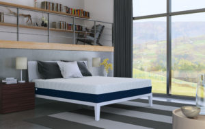 Amerisleep mattress in a bedroom setting