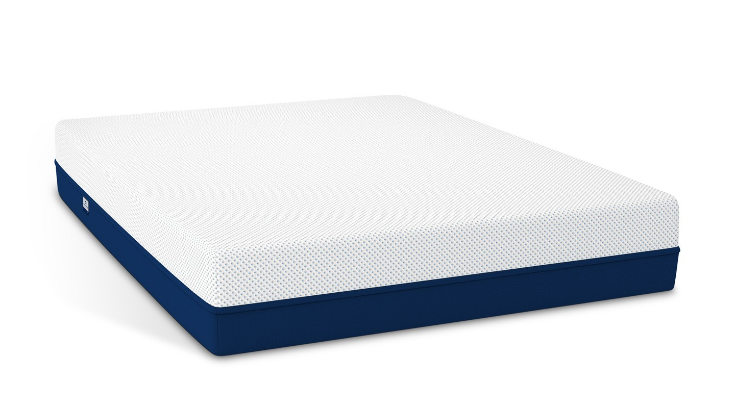 best mattress bare Amerisleep AS3 mattress in plain white background