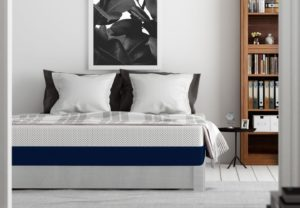 Amerisleep AS1mattress for stomach sleepers in a home environment