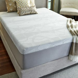 "Luxury Solutions 14"" Firm Memory Foam Mattress"