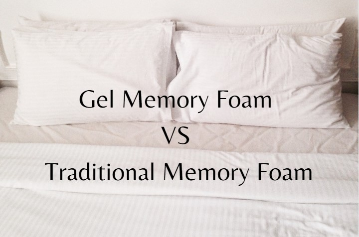 gel memory foam vs traditional memory foam